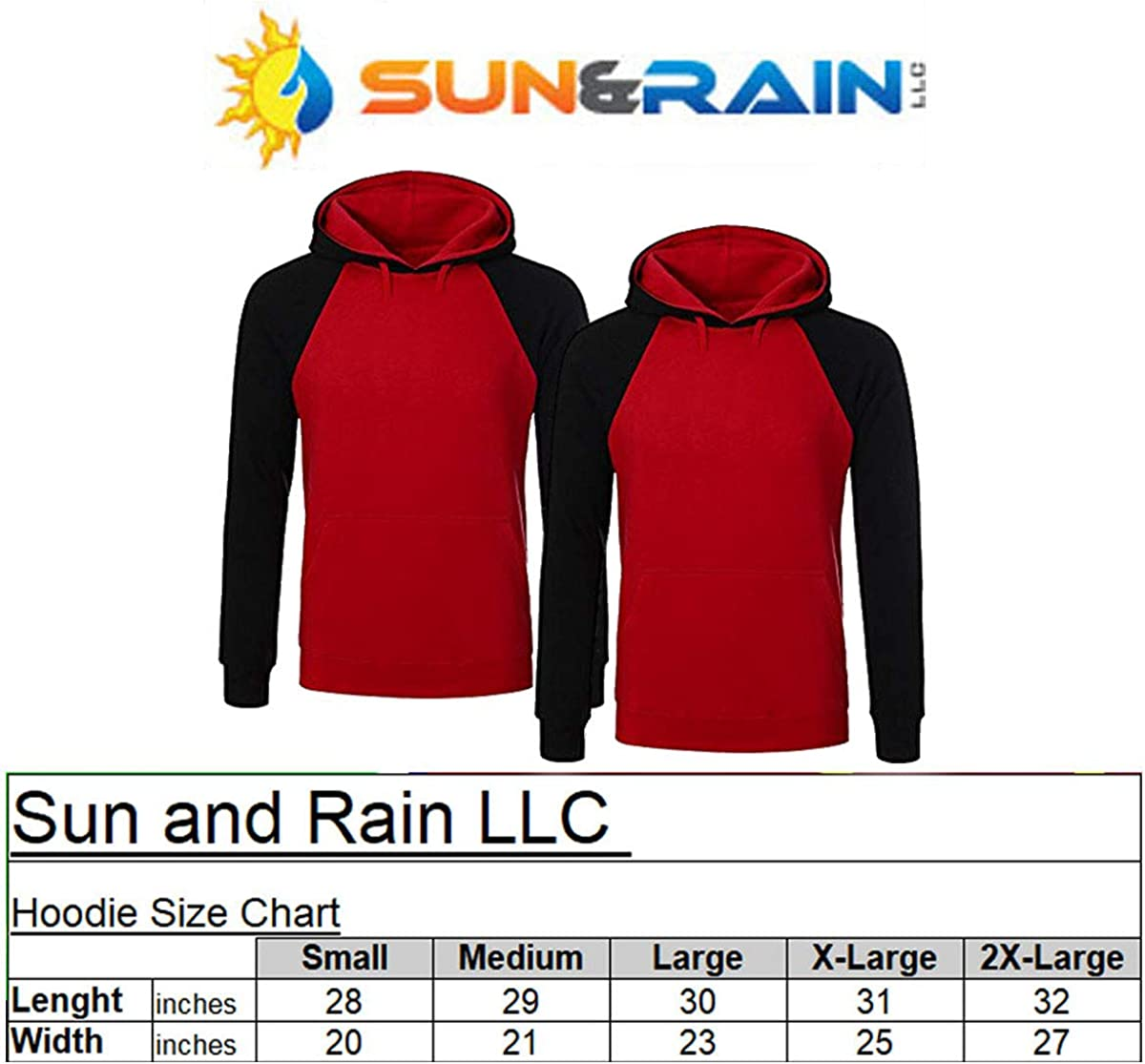 Couple Matching King Queen Crown Raglan Hoodie Pullover Hooded Sweatshirt