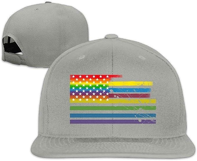 Gay LGBT Pride Hip Hop Sombreros Gorras Juveniles Gorras de ...