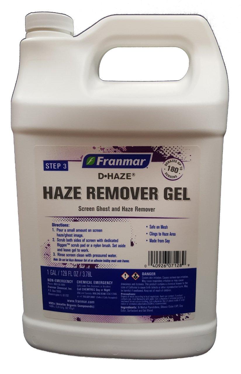 Amazon com: Franmar D-Haze Gel Screen Printing Haze Remover