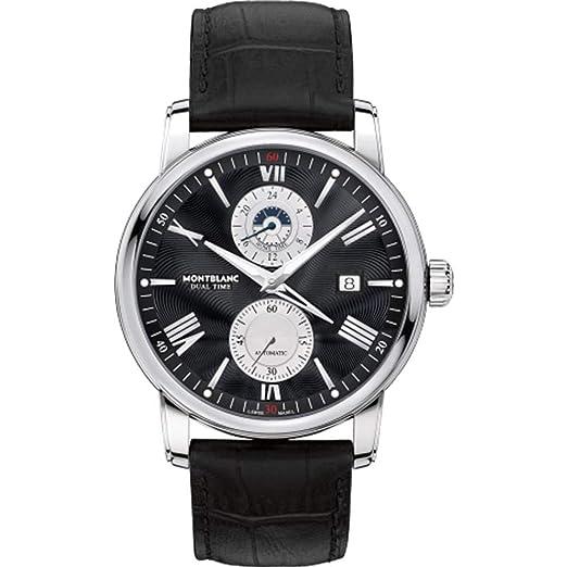 Montblanc 4810 Reloj de Hombre automático 42mm Caja de Acero 114858: Amazon.es: Relojes