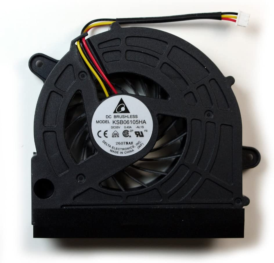Power4Laptops Replacement Laptop Fan for Gateway NV79C51U Gateway NV79C54U Gateway NV79C52U