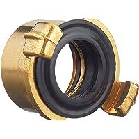 GARDENA messing snelkoppelingsschroefdraadstuk met schroefdraad aan binnenzijde: Slangaansluiting met 33,3 mm (G 1…