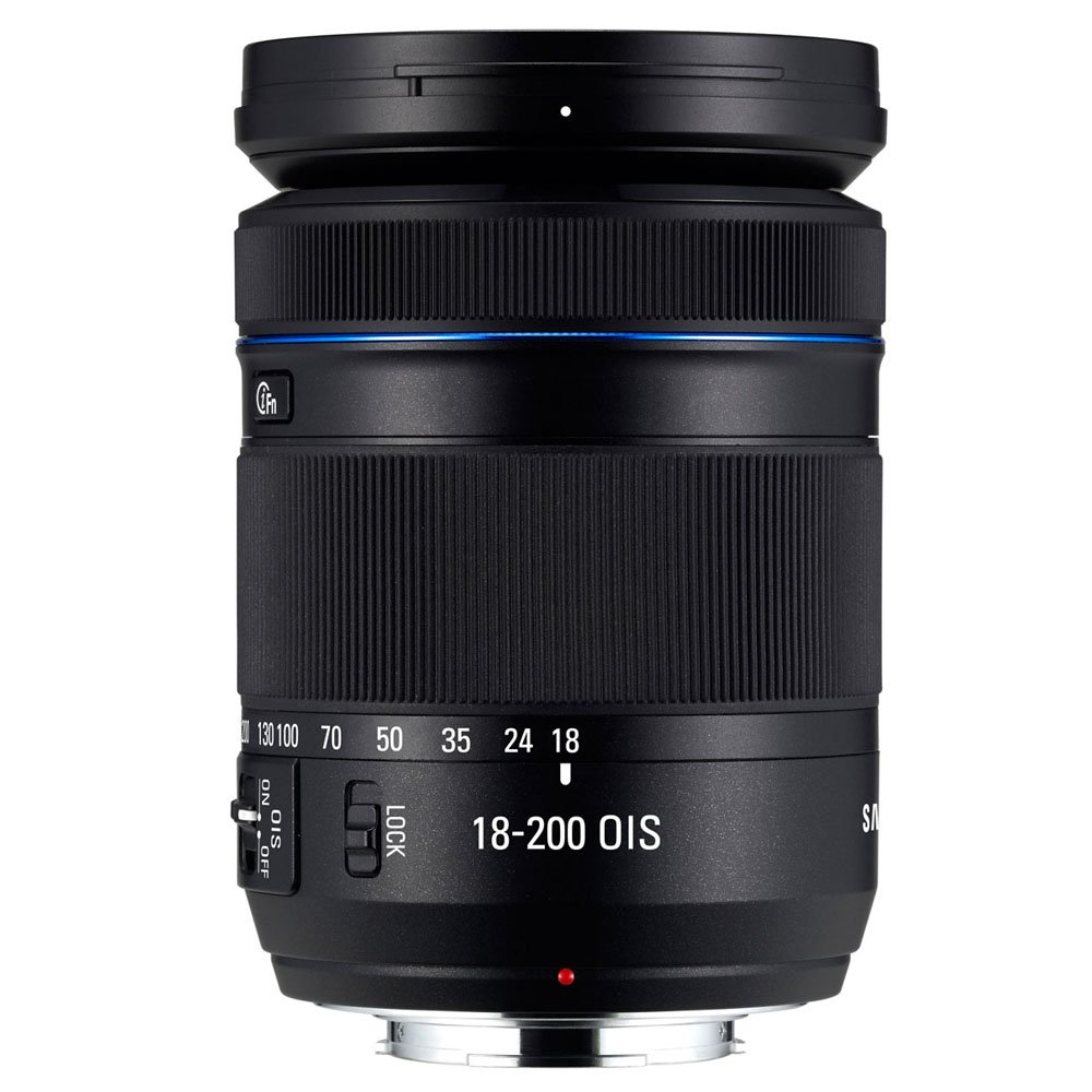 Samsung Movie Pro, 18-200mm lens for NX Series Cameras