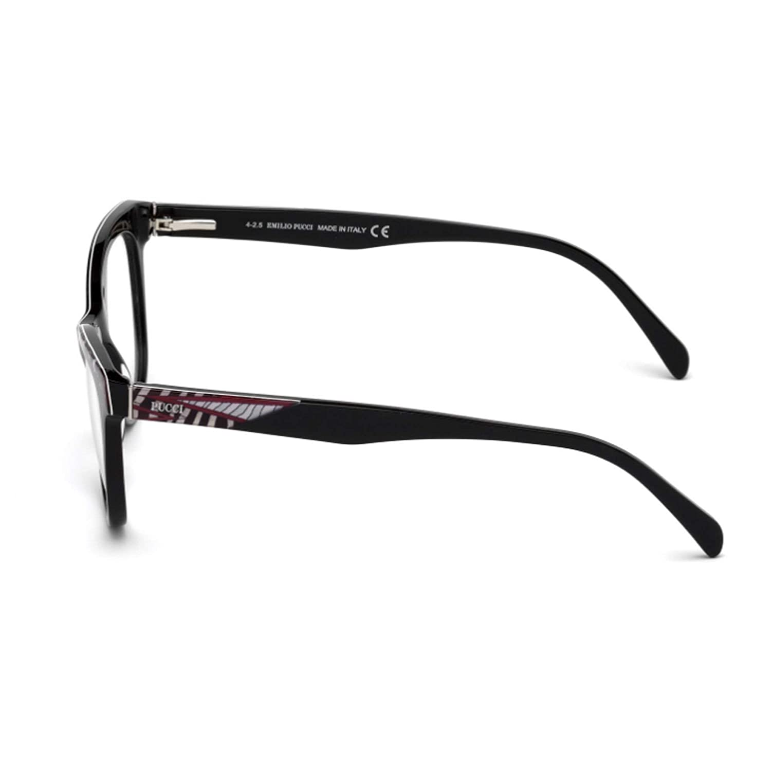 f1f9094f880f Eyeglasses Emilio Pucci EP 5036 EP5036 001 shiny black at Amazon Men s  Clothing store
