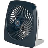 Navia CEN-9001 Ventilador Personal Potente Mío de Escritorio, Color Azul Marino, 2 Velocidades