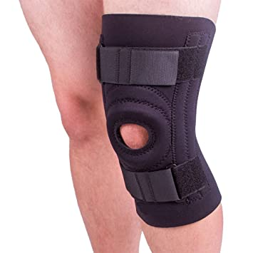 f12b2c8601 BraceAbility Knee Brace for Large Legs and Bigger People with Wide Thighs |  Kneecap Protection Pad