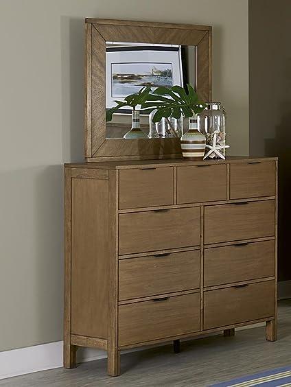Progressive Furniture Strategy Dresser and Mirror