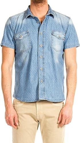 Carrera Jeans - Camisa Jeans para Hombre ES XL: Amazon.es: Ropa y accesorios