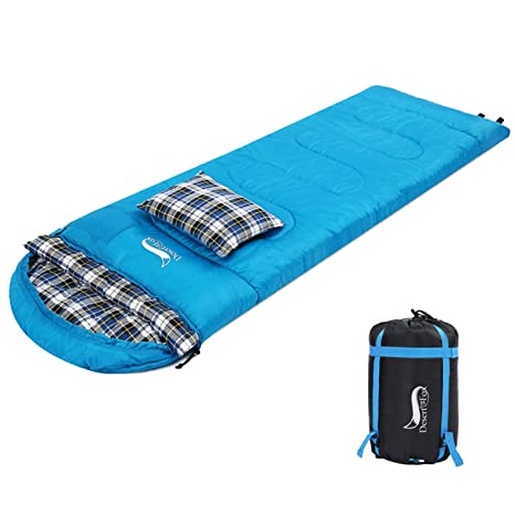 abf2309c23 Amazon.com   DESERT   FOX Cotton Flannel Sleeping Bags with Pillow ...