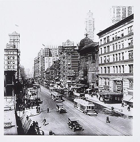 3dRose Image of photo of 1920 Broadway in New York - Greeting Cards, 6 x 6 inches, set of 6 - Broadway Of New Images York