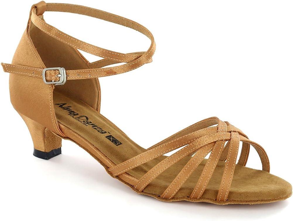 AlmaDanza Womens Latin Dance Shoes A261303//A261305 Heel1.5