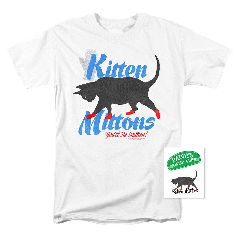 Amazon.com: Popfunk It\'s Always Sunny in Philadelphia Kitten Mittons ...