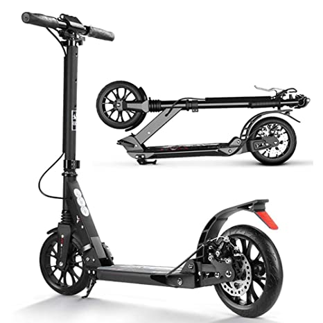 Scooter Patinete Kick Negro Adulto Plegable Commuter, Shock ...