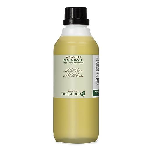 5 opinioni per Naissance Olio di Macadamia- Olio Vegetale Puro al 100%- 500ml