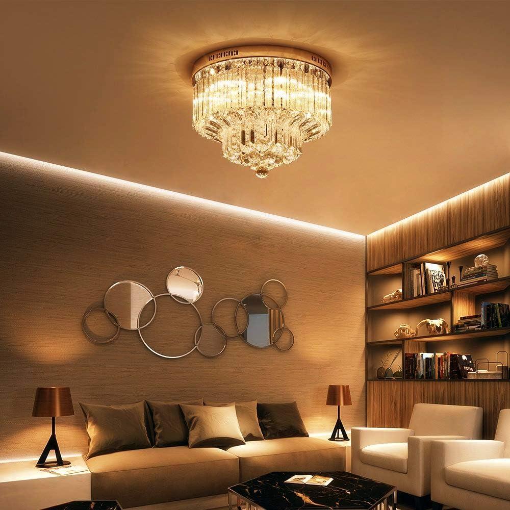 ELINKUME G9 LED Lampen 3W /Äquivalent 30W Dimmbar Warmwei/ß 3000K 330LM AC220-240V Energieeinsparung 46 x 2835SMD Anwendbare G9 Lampe-5 Pack kein Flimmern, kein Strobe, keine Signalt/öne