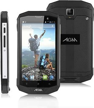 AGM STONE 5S Movil 4G LTE Libre [ IP67 Impermeable y a prueba de ...
