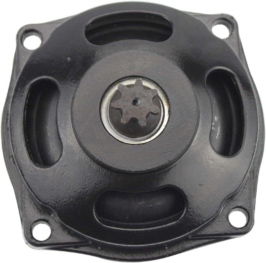 Sthus 6T Clutch Drum Gear Box Cover 47cc 49cc Mini Pocket Quad Bike Black