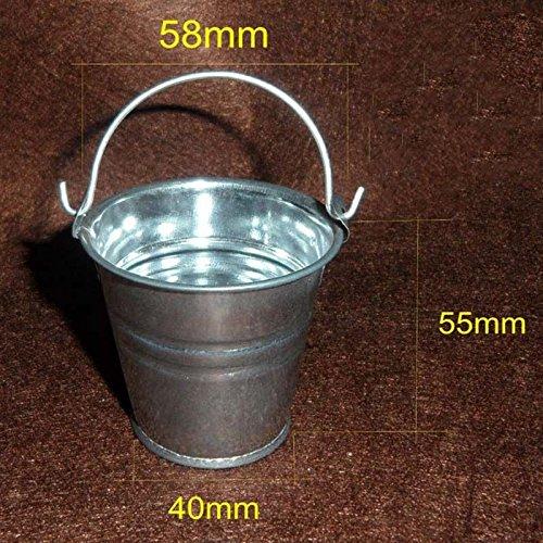 Smartchef HOT FIGURE TOY 1/6 scenario metal Stainless steel bucket