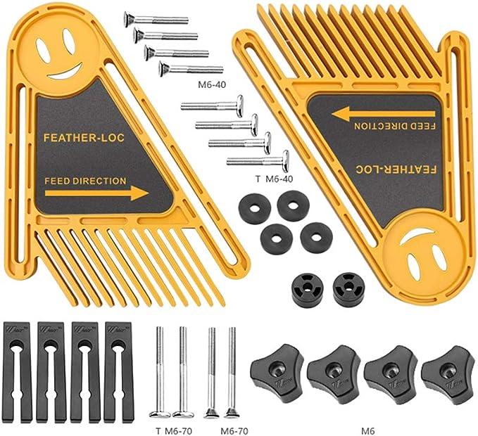 elektrische Kreiss/äge Multifunktions-Holzbearbeitungswerkzeug Slot Feather Boards Featherboard