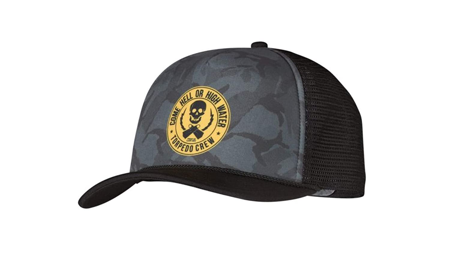 5fa452a6 Patagonia Torpedo Crew Interstate Trucker Cap Black: Amazon.co.uk: Clothing
