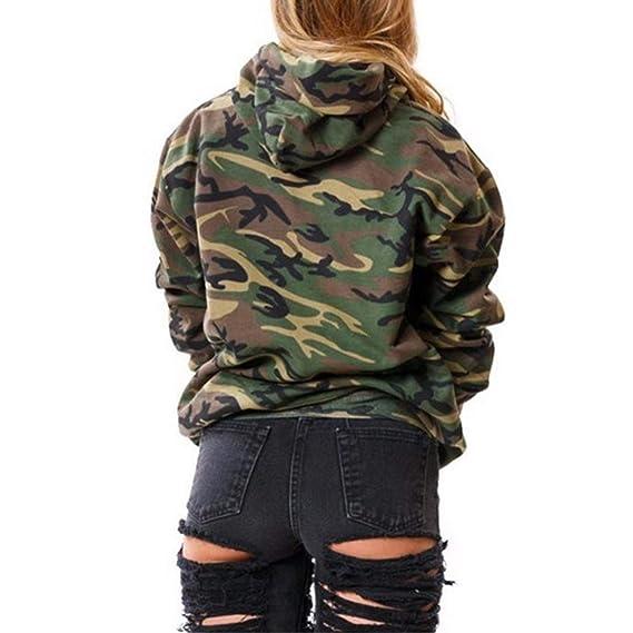 Amazon.com: Little Happiness- Fashion Camouflage Women Sweatshirt Army Hoodies Pullover Womens Hoodies Female Sweatshirts: Clothing