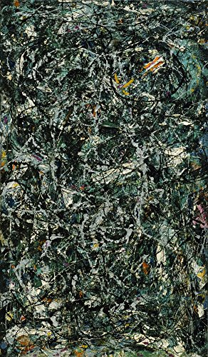The Museum Outlet - Jackson Pollock - Full Fathom Five - Canvas Print Online Buy (30 X 40 Inch)