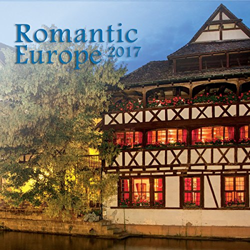 Turner Photo 2017 Romantic Europe Photo Mini Wall Calendar, 7 x 14 inches Opened (17998950018)