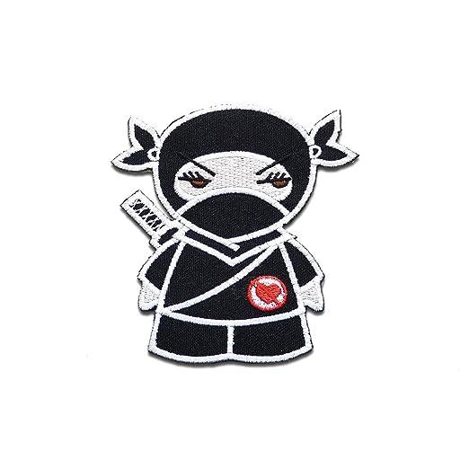 Hierro en parches - Anti Love Ninja roto corazón - negro - 7 ...