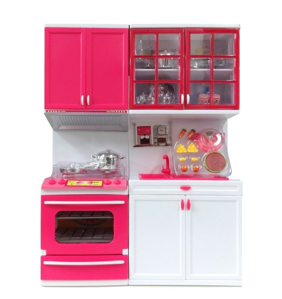 Buy Sunshine Modern Kitchen Play Set With Light And Sound Online At Low  Prices In India   Amazon.in