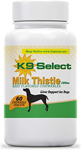 K9 Select Milk Thistle for Dogs Beef Chewable