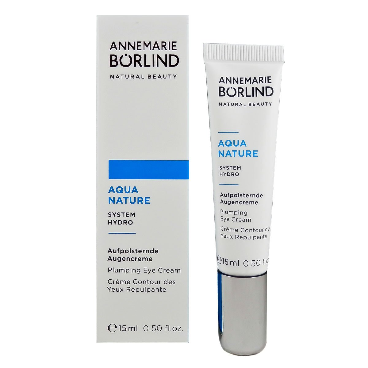 Annemarie Börlind Aquanature Aufpolsternde Augencreme, 1er Pack (1 x 15 ml) 4011061214905