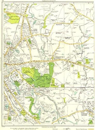Bolton Tong Moor Breightmet Little Lever Springfield 1935 Vintage