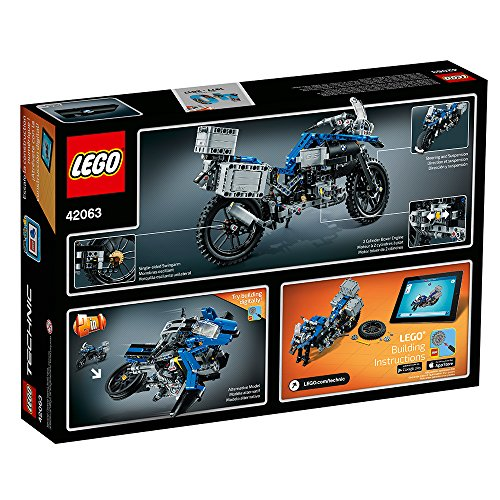 61XIQDRL7SL - LEGO Technic BMW R 1200 GS Adventure 42063 Advanced Building Toy
