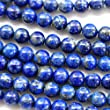 Natural Color Genuine Blue Lapis Lazuli Real Gemstone Loose Beads for Necklace Jewelry Making (round 4mm)