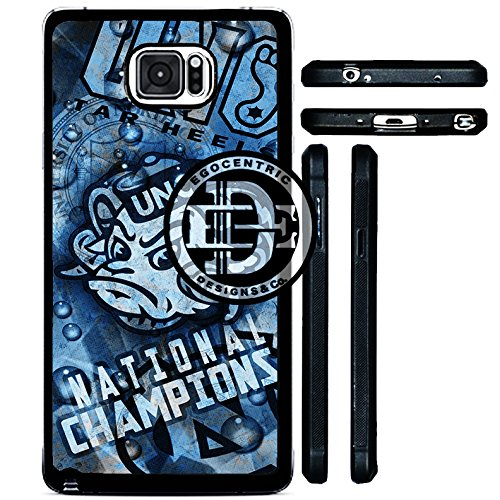 (Note 5) EGOCENTRIC DESIGN & CO. UNC National Champions College University Basketball Sports TPU Rubber Silicone Phone Case -