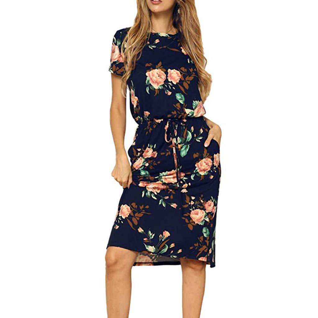 6069cf5578fe9 Amazon.com: Birdfly ℱree Ship Spring Summer Fashion Women Floral ...