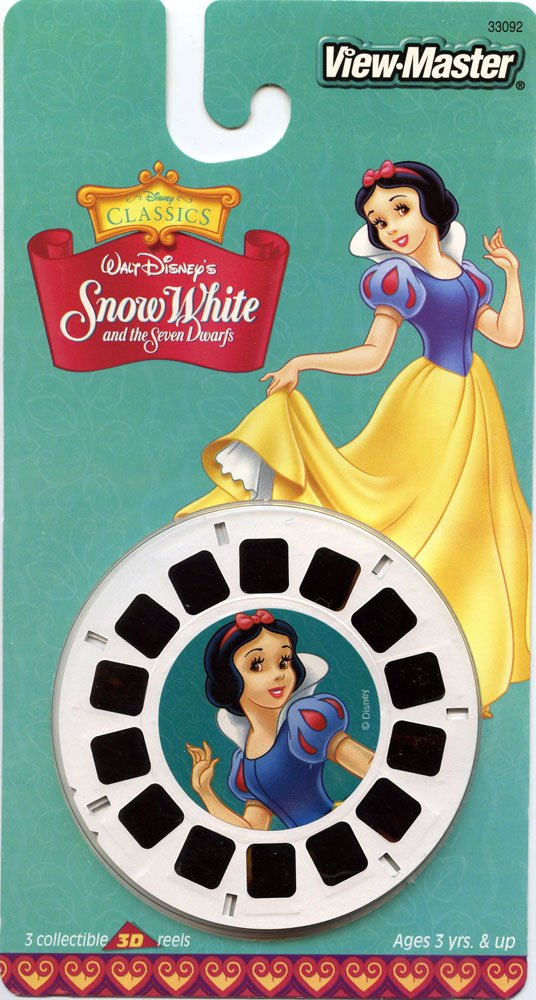 Disney's Snow White and the Seven Dwarfs View-Master 3 Reel Set - Made in USA by View Master