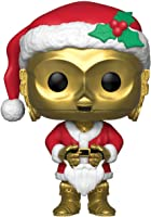 Funko Pop Star Wars: Holiday - Santa C-3Po Collectible Figure, Multicolor