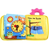 Pinfect Infant Kids Early Development Cloth Book Learning Educational Baby Toys