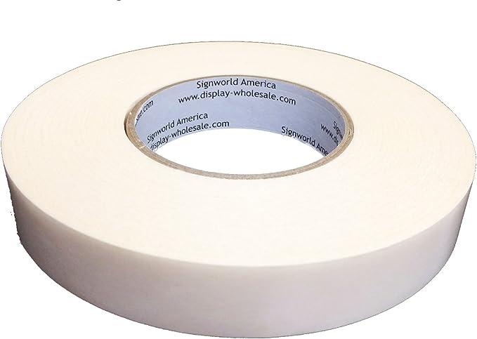 "1/"" x 36yd High Bond Vinyl Banner Hem Seam Tape"
