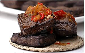 Qyz@ Chinese Special Leisure Food:hunan Changsha Specialty Stinky Tofu Spicy(120g2)