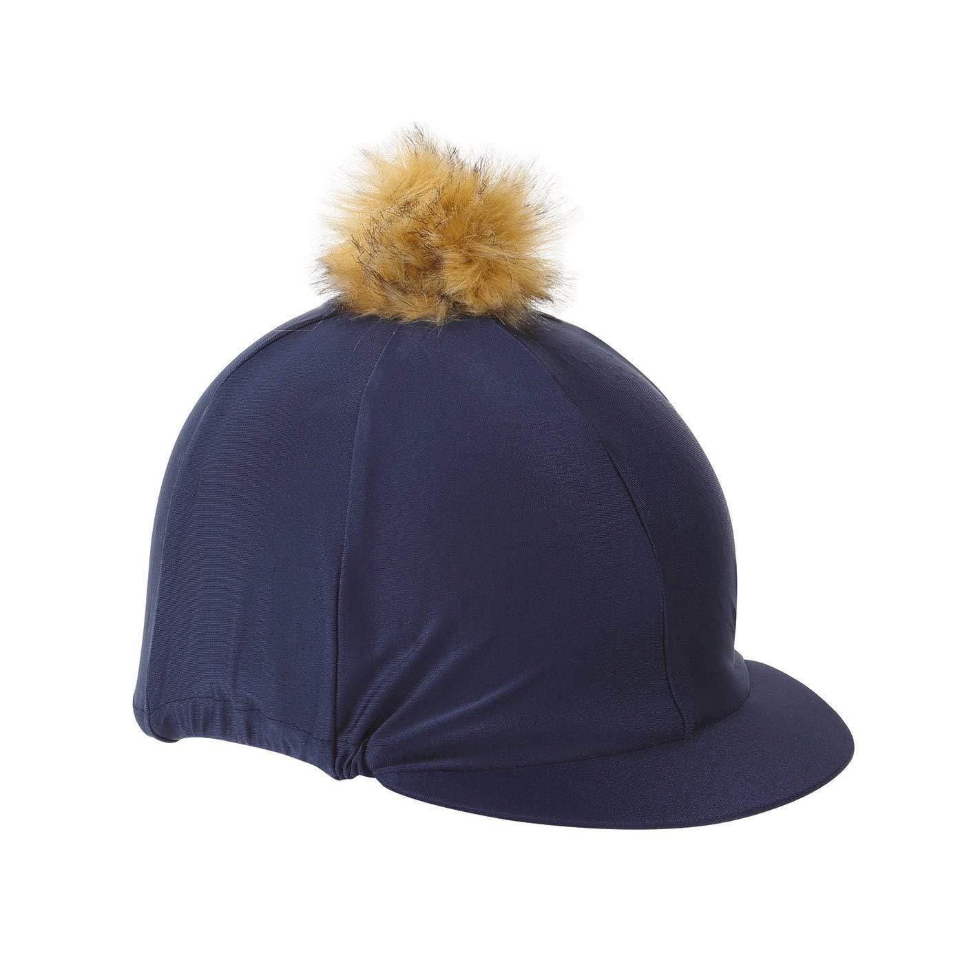 Sombrero con funda y pon pon Shires