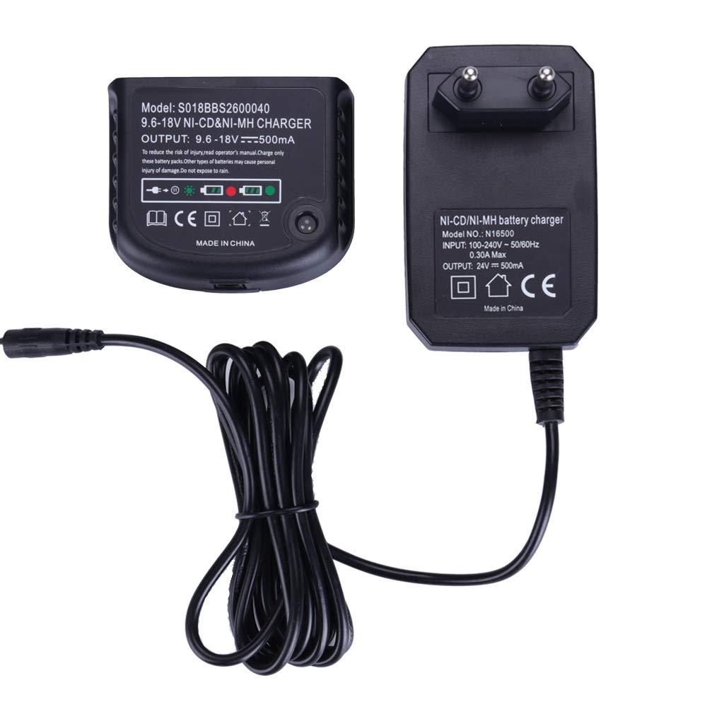 Chargeur de batterie Ni-MH/Ni-Cd pour Black & Decker Perceuse HPB18-OPE HPB18 HPB14 HPB12 HPB96 9.6V 12V 14.4V 18V Batteries Shenzhen Chengxinqi Co. Ltd
