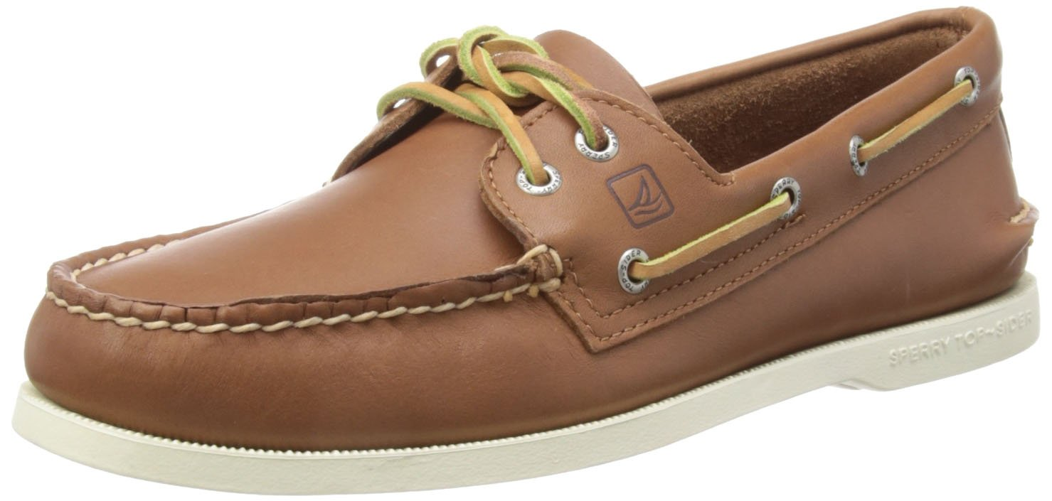 Sperry Top-Sider Mens A/O Boat Shoe  115 2E US|Tan