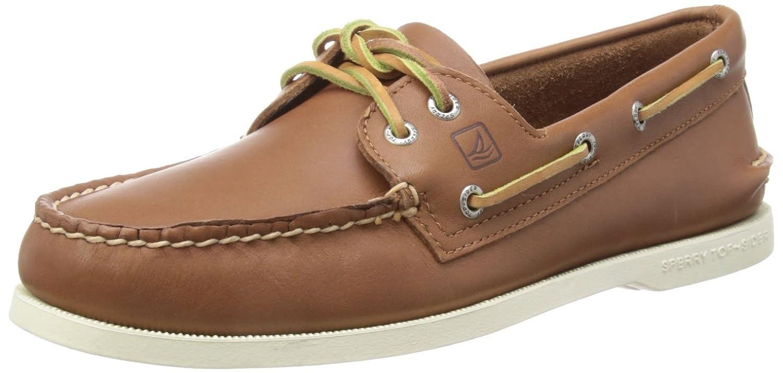 Sperry Authentic Original 2-Eye 9294398 - Zapatos de cuero para mujer, Marrón, EU 40