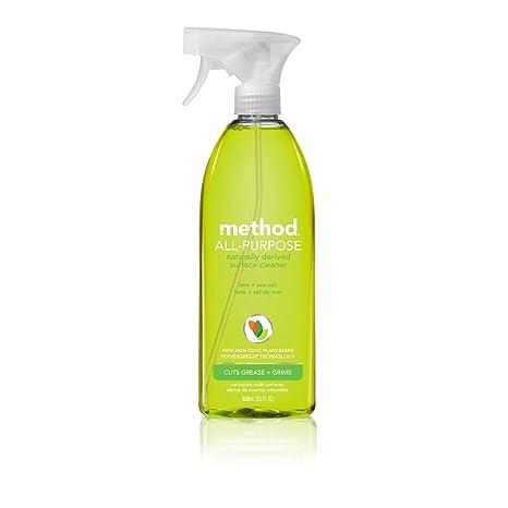 Method All Purpose Cleaner, Lime + Sea Salt, 28 Ounce by Method