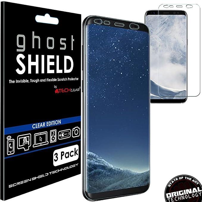 5 opinioni per Techgear® Confezione da 3 pellicole originali proteggi schermo per Samsung