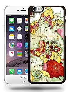 Vintage Atlas Old World Map Phone Case Cover Designs for iPhone 6
