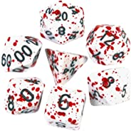 Blood Splatter Dice for Pen and Paper Role Playing Board Games, DND, Dungeons, Dragons