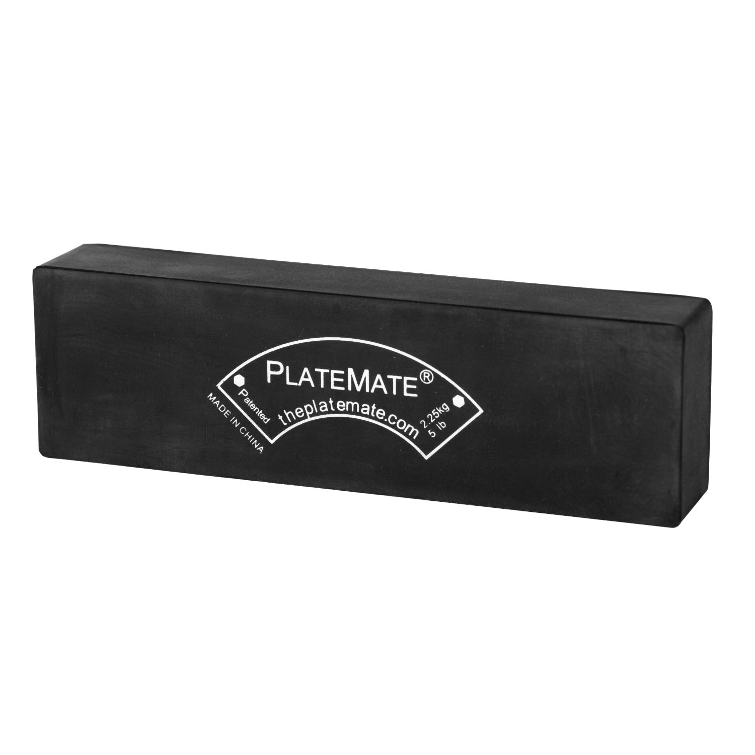 Plate Mate 5 lb. Brick (Single) - Magnetic Add-On Weight for Selectorized Weight Stack Machines by Plate Mate